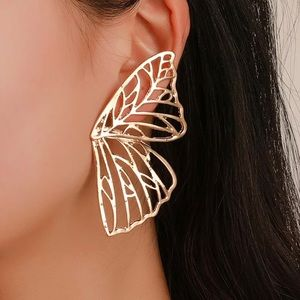 🆕 Gold Butterfly Wing Earrings